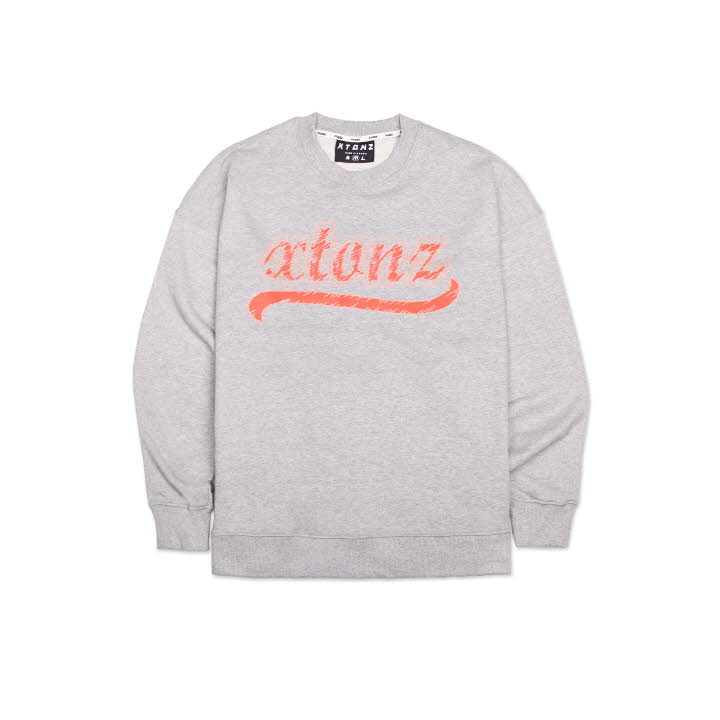 XTM010 SKETCH SWEAT SHIRT (GRAY)